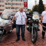 Motosikletleriyle Kütahya'dan İran'a gidecekler
