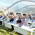 Antik kentte belediye meclisi toplantısı