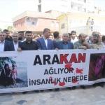 Arakan'da Müslümanlara yapılan katliama tepkiler