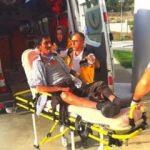 Osmancık'ta kaza: 5 yaralı