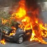 Ankara'da sıcak anlar... Cayır cayır yandı
