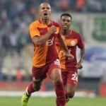 Maç sonu Feghouli'den o söz 'Elhamdulillah'