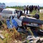 Manisa'da korkunç kaza: Ölü ve yaralılar var!