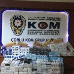 Tekirdağ'da kaçak sigara operasyonu