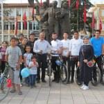 Turhal'da bisiklet etkinliği