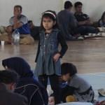 Kaçak göçmenlere ilçe halkı sahip çıktı