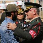 Kalp krizi nedeniyle hayatını kaybeden asker toprağa verildi