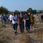Didim'de otomobil devrildi: 6 yaralı