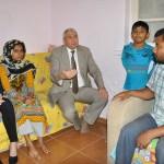 Manisa'ya yerleşen Arakanlı aileye psikososyal destek