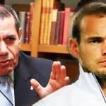 Dursun Özbek'ten şoke eden Sneijder itirafı!