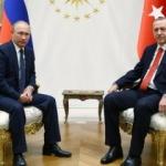Erdoğan ve Putin Külliye'de görüştü