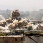 Esad rejiminden Şam'da saldırı: 14 sivil öldü