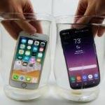 iPhone 8 mi? Galaxy S8 mi? İşte su testi sonucu!