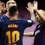 Referandum olayları Messi'yi durduramadı!