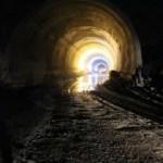Tüneli iki uçunda 8-10 derecelik sıcaklık farkı