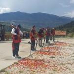 Beyşehir Huğlu'da trap atış müsabakaları