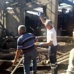 Söke'de fabrika kazanı patladı: 4 yaralı