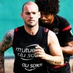 Sneijder'den itiraf: 'Para için...'