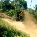 ATV ile takla atan sürücü böyle hayatını kaybetti!