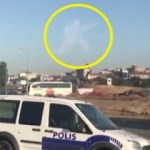İstanbul'da asker şekilli bulut
