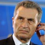 Oettinger: Avrupa'da iç savaş çıkabilir
