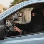 Suudi Arabistan'da kadın sürücü kaza yaptı!
