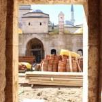 """""""Fatih""""in eğitim gördüğü medresede restorasyon sürüyor"""