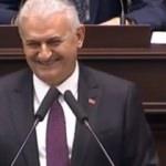 Başbakan Yıldırım dili dönmeyince espriyi patlattı