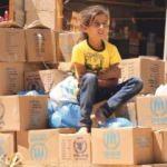BM Suriyelilere bozuk gıda dağıttı