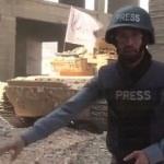 Tank canlı yayında vuruldu