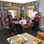Sıbyan mektebi kütüphane oldu
