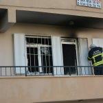 Didim'de ev yangını