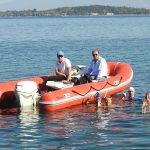 Milli yüzücülerden deniz dibi temizliği