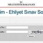 07 Ekim Ehliyet sınav sonucu sorgulama sayfası! MEB açıklanma tarihi...