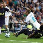 Real Madrid puanı zor kurtardı