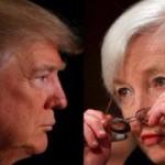 Trump, Fed Başkanı Yellen ile görüştü