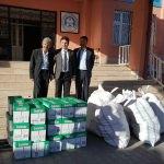 Tatvan'da öğrencilere kırtasiye yardımı