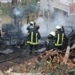 Samsun'da kümes yangını