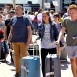 10 ayda 9.5 milyon turist geldi