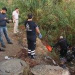 Adana'da dere yatağında ceset