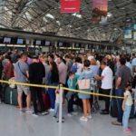 Almanya'daki havalimanında şaşırtan terör alarmı