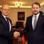 Bakan Albayrak Azeri mevkidaşı ile görüştü