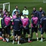 Milliler, Romanya maçı hazırlıklarını sürdürdü