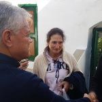 Başkan Acar'dan Simi'ye geçmiş olsun ziyareti