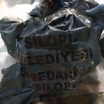 Belediyenin kömür torbalarından PKK'nın mühimmatı çıktı