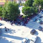 Muhtarın okul önüne trafik polisi talebi