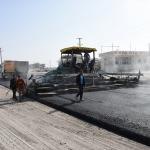 Nusaybin sanayi sitesindeki kavşak çalışması