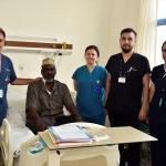 Somalili Yusuf Türkiye'de tedavi edildi