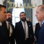Diriliş Ertuğrul ekibi Katar'da! Erdoğan ile birlikte...