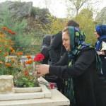 Tokat Valisi Toraman'ın eşinden şehit mezarlarına ziyaret